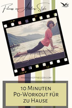 10 Minuten Po-Workout für zu Hause – Fitness im Albatros-Style