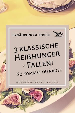 3 klassische Heißhunger – Fallen! So kommst du raus!