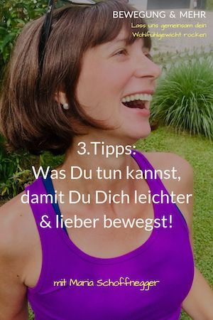 #37 Podcast: 3. Fitness Tipps: Was Du tun kannst, damit Du Dich leichter & lieber bewegst!