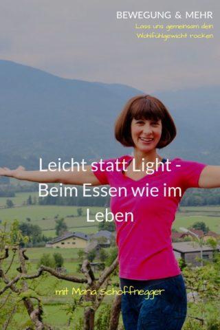 #40 Podcast: Leicht statt Light – Beim Essen wie im Leben