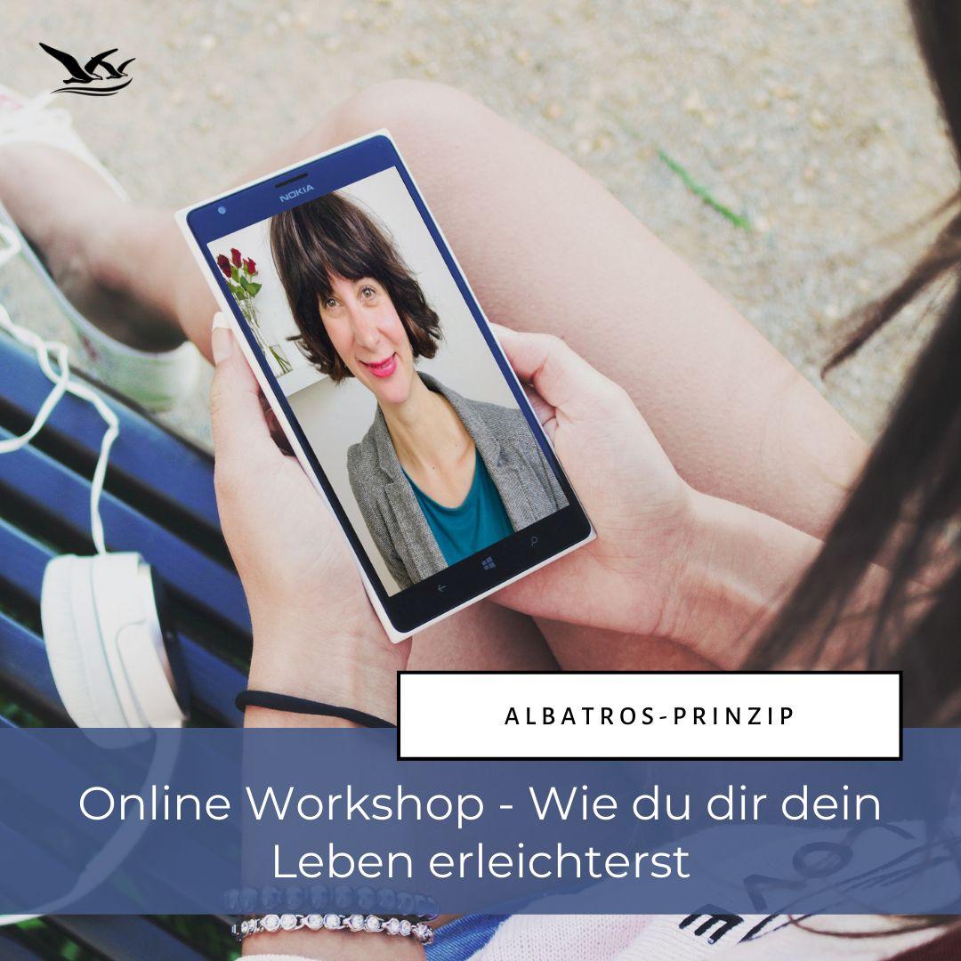 Albatros-Prinzip online Workshop - Wie du dir dein Leben erleichterst