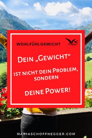 """Dein """"Gewicht"""" ist nicht dein Problem, sondern deine Power!"""