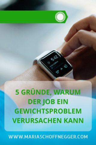 5 Gründe, warum der Job ein Gewichtsproblem verursachen kann