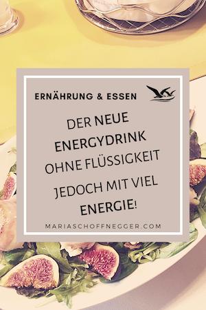 Der neue Energydrink ohne Flüssigkeit jedoch mit viel Energie!