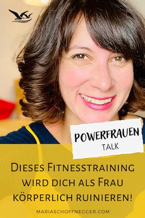 Dieses Fitnesstraining wird dich als Frau körperlich ruinieren!