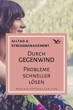 Durch Gegenwind Probleme schneller lösen