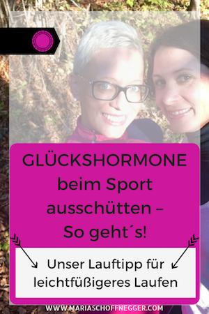 Endorphine (Glückshormone) beim Sport ausschütten – So geht´s!