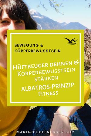 Hüftbeuger dehnen & Körperbewusstsein trainieren – ALBATROS-PRINZIP Fitness