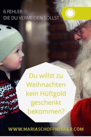 Du willst zu Weihnachten kein Hüftgold geschenkt bekommen?