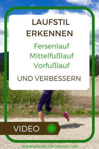 Laufstil erkennen und verbessern: Fersenlauf – Mittelfußlauf – Vorfußlauf