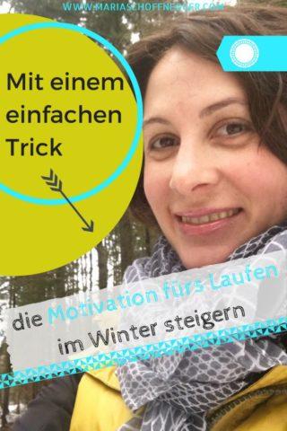 Mit einem einfachen Trick die Motivation fürs Laufen im Winter steigern