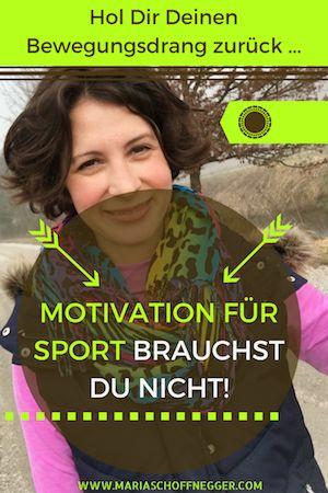 Motivation für Sport brauchst Du nicht!
