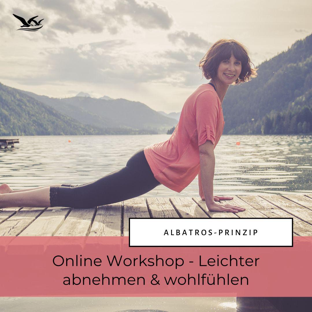 Online Workshop ALBATROS-PRINZIP leichter abnehmen und wohlfühlen