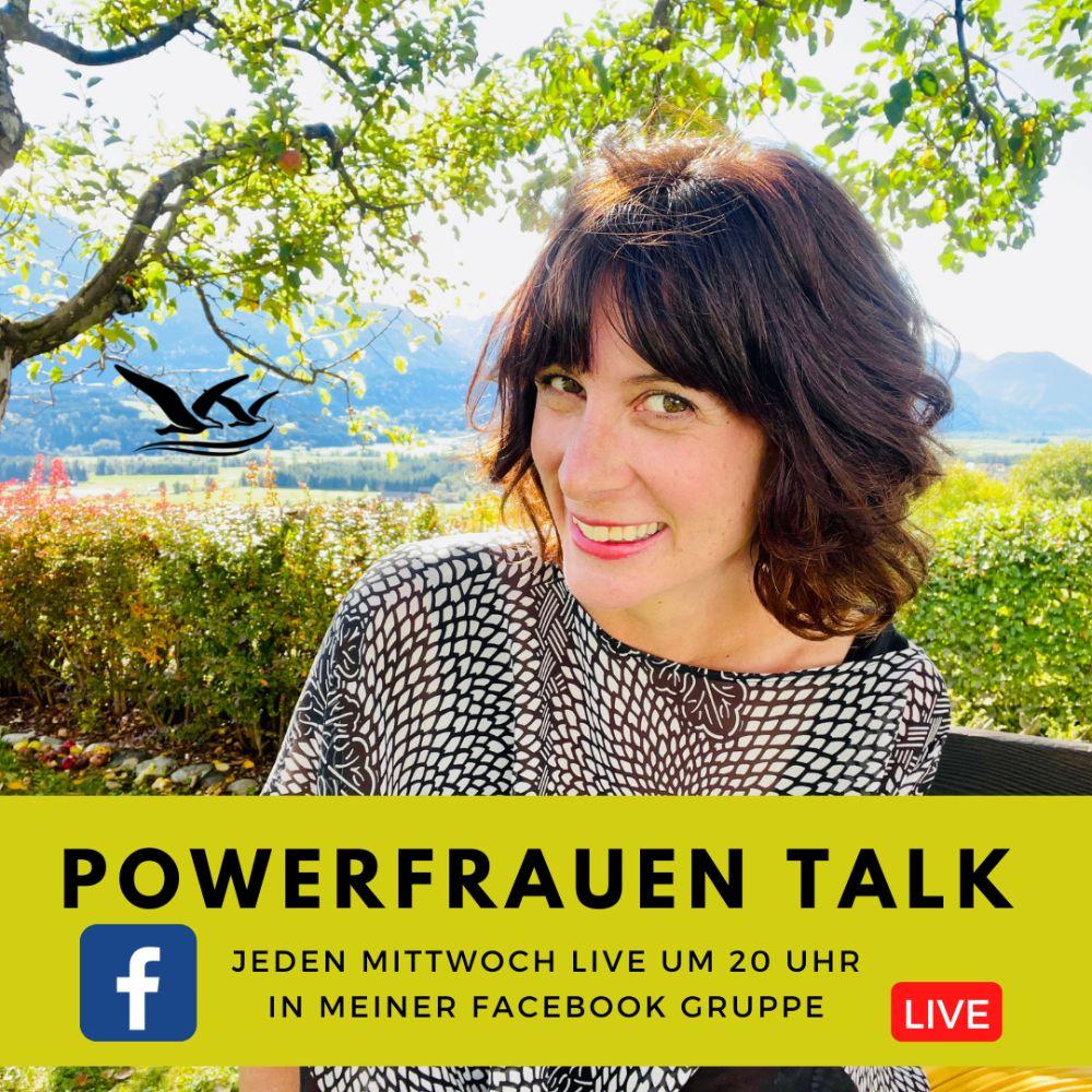 Powerfrauen Talk live jeden Mittwoch