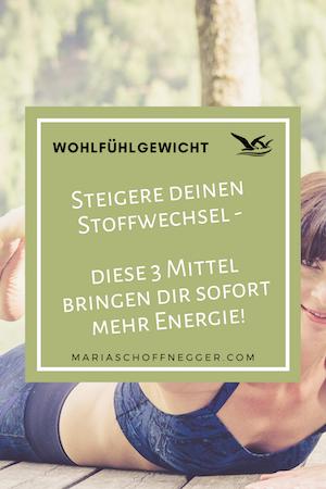 Steigere deinen Stoffwechsel – diese 3 Mittel bringen dir sofort mehr Energie!