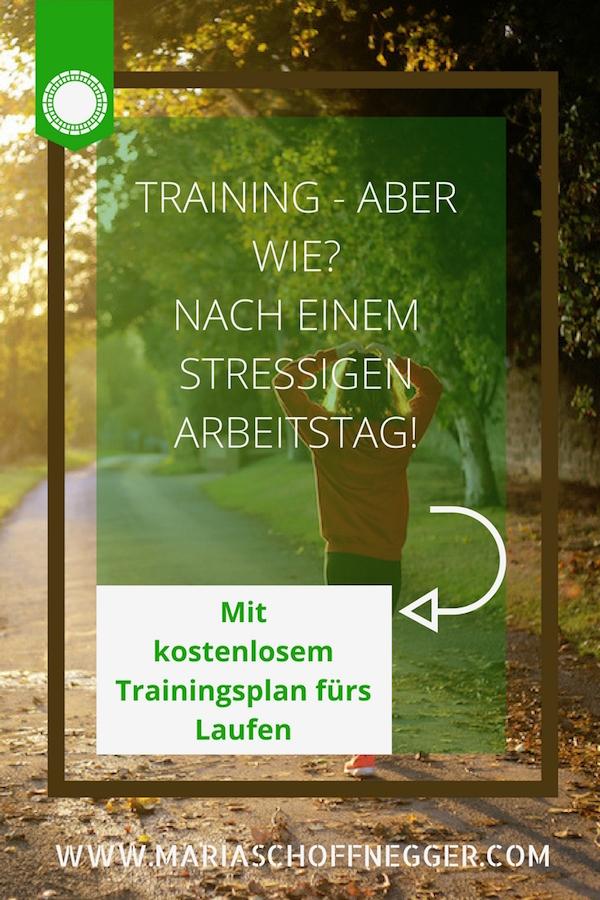 Training – Aber wie? Nach einem stressigen Arbeitstag!