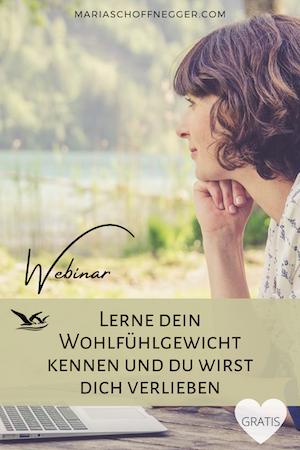 Webinar - Lerne dein Wohlfühlgewicht kennen und du wirst dich verlieben