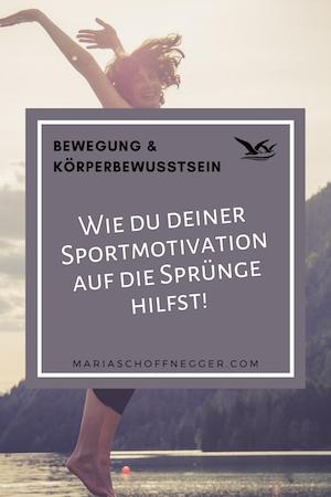 Wie du deiner Sportmotivation auf die Sprünge hilfst!