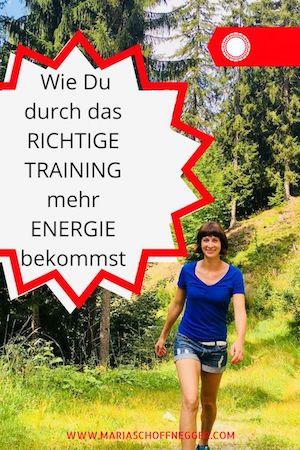 Wie Du durch das richtige Training mehr Energie bekommst